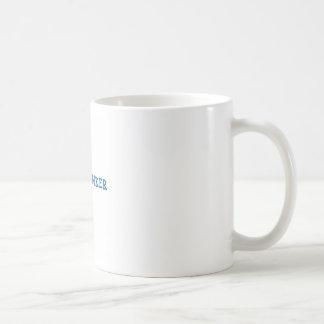 Freethinker (blue) basic white mug
