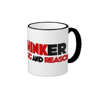 Freethinker Ringer Mug