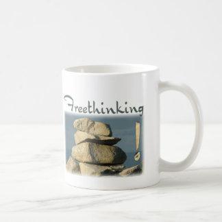 Freethinking Rocks! Coffee Mug