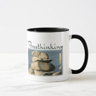 Freethinking Rocks! Mug