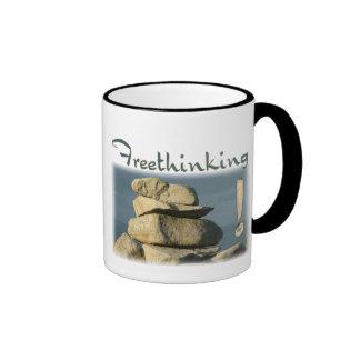 Freethinking Rocks Mug