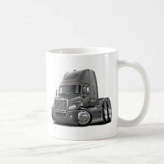 Freightliner Cascadia Grey Truck Coffee Mug