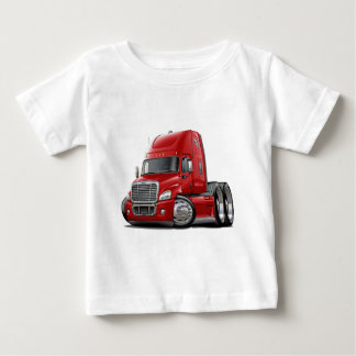 Freightliner Cascadia Red Truck Baby T-Shirt