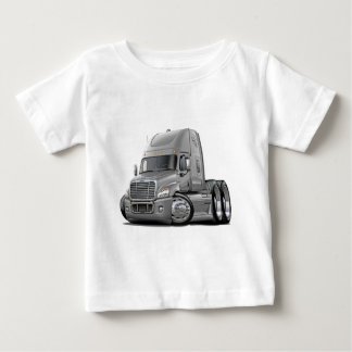 Freightliner Cascadia Silver Truck Baby T-Shirt