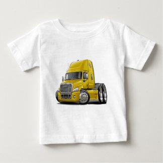 Freightliner Cascadia Yellow Truck Baby T-Shirt
