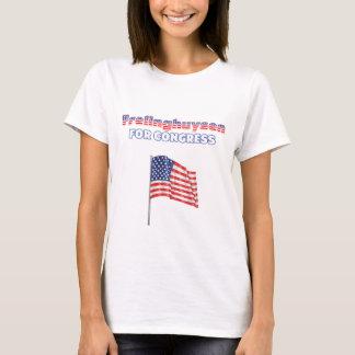 Frelinghuysen for Congress Patriotic American Flag T-Shirt
