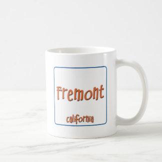 Fremont California BlueBox Coffee Mug