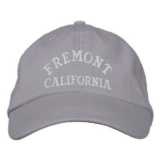 Fremont California Embroidered Hat
