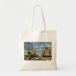 Fremont St., Las Vegas, Nevada Vintage Tote Bag