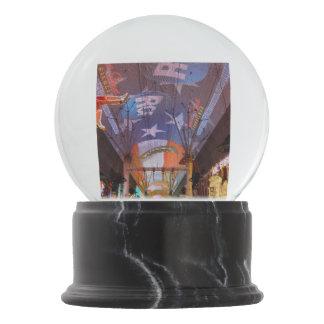 Fremont Street Experience Snow Globe