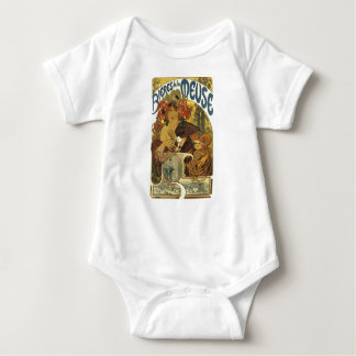 French Beer Maid Baby Bodysuit