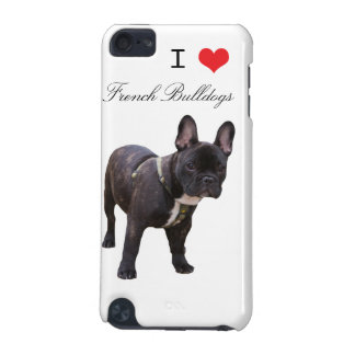 French Bulldog dog ipod touch 4G case, gift idea iPod Touch 5G Case