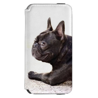 French bulldog incipio watson™ iPhone 6 wallet case