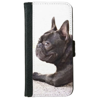 French bulldog iPhone 6 wallet case
