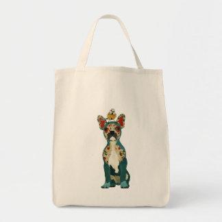 French Bulldog & Little Bird Bag