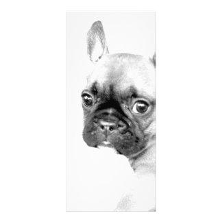 French Bulldog Personalised Rack Card