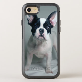 French Bulldog Puppy At Attention OtterBox Symmetry iPhone 8/7 Case