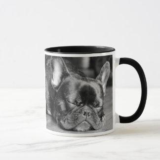 French Bulldog Sleeping Dog Breed Mug