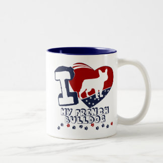 French Bulldog Two-Tone Coffee Mug