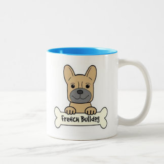 French Bulldogs Are The Best Two-Tone Coffee Mug