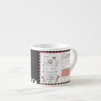 French Cafe Espresso Cup