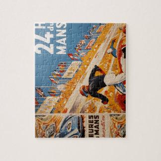 french car race vintage - 24h du Mans Jigsaw Puzzles