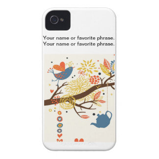 French Country Kitchen - Pans on floral pattern. iPhone 4 Covers