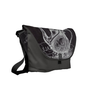 french country paris tea party chalkboard teapot courier bags