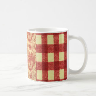 French Country Toile Barnyard Roosters Coffee Cup Coffee Mugs