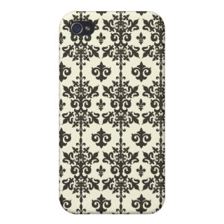 French Floral Pattern Iphone Case iPhone 4/4S Case