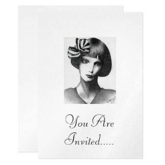 French Girl Card