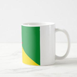 french guiana coffee mug