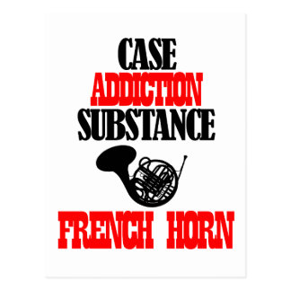 FRENCH HORN designs Post Cards