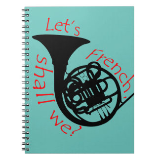 French Horn Note Book