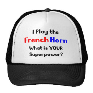 French horn player cap