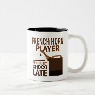 French Horn Player (Funny) Chocolate Coffee Mugs