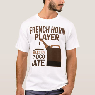 French Horn Player (Funny) Chocolate T-Shirt