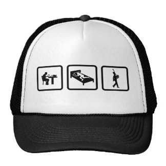 French Horn Player Trucker Hats