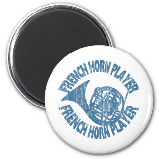 French Horn Player Refrigerator Magnets