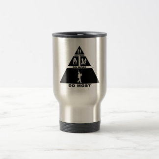 French Horn Player Stainless Steel Travel Mug