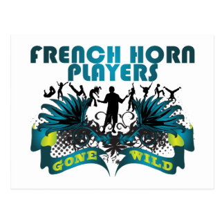 French Horn Players Gone Wild Post Cards