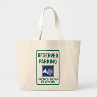 French Horn Players Parking Canvas Bag