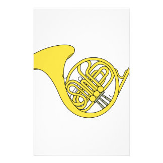 French Horn Stationery