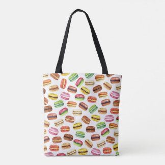 French Macarons a.k.a. Macaroons Tote Bag
