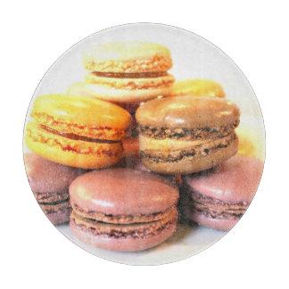 French Macarons Cutting Board