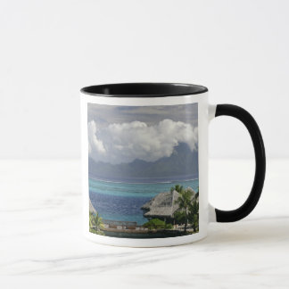 French Polynesia, Moorea. A view of the island Mug