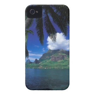 French Polynesia, Moorea. Cooks Bay. Green iPhone 4 Case