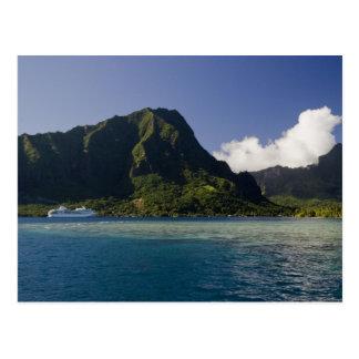 French Polynesia, Moorea. The Paul Gauguin Postcard