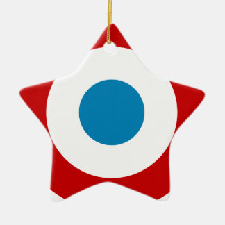 French Revolution Roundel France Cocarde Tricolore Christmas Ornament