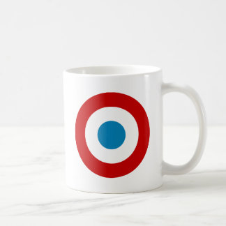French Revolution Roundel France Cocarde Tricolore Coffee Mug